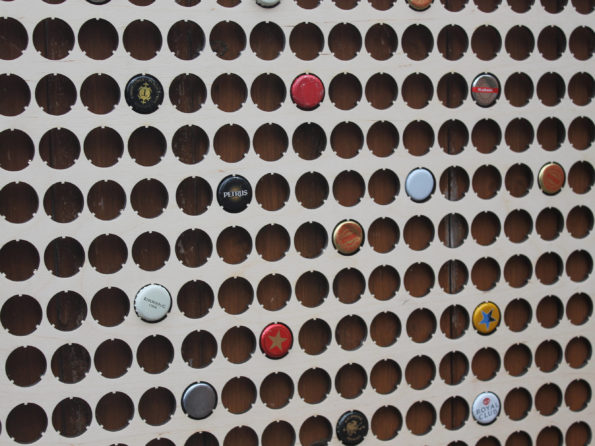 224 Large Bottle Cap Holder Map BeerCap Map Collection Gift Art