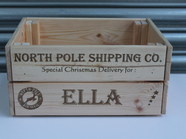 Christmas Crate - Personalised Santa Express