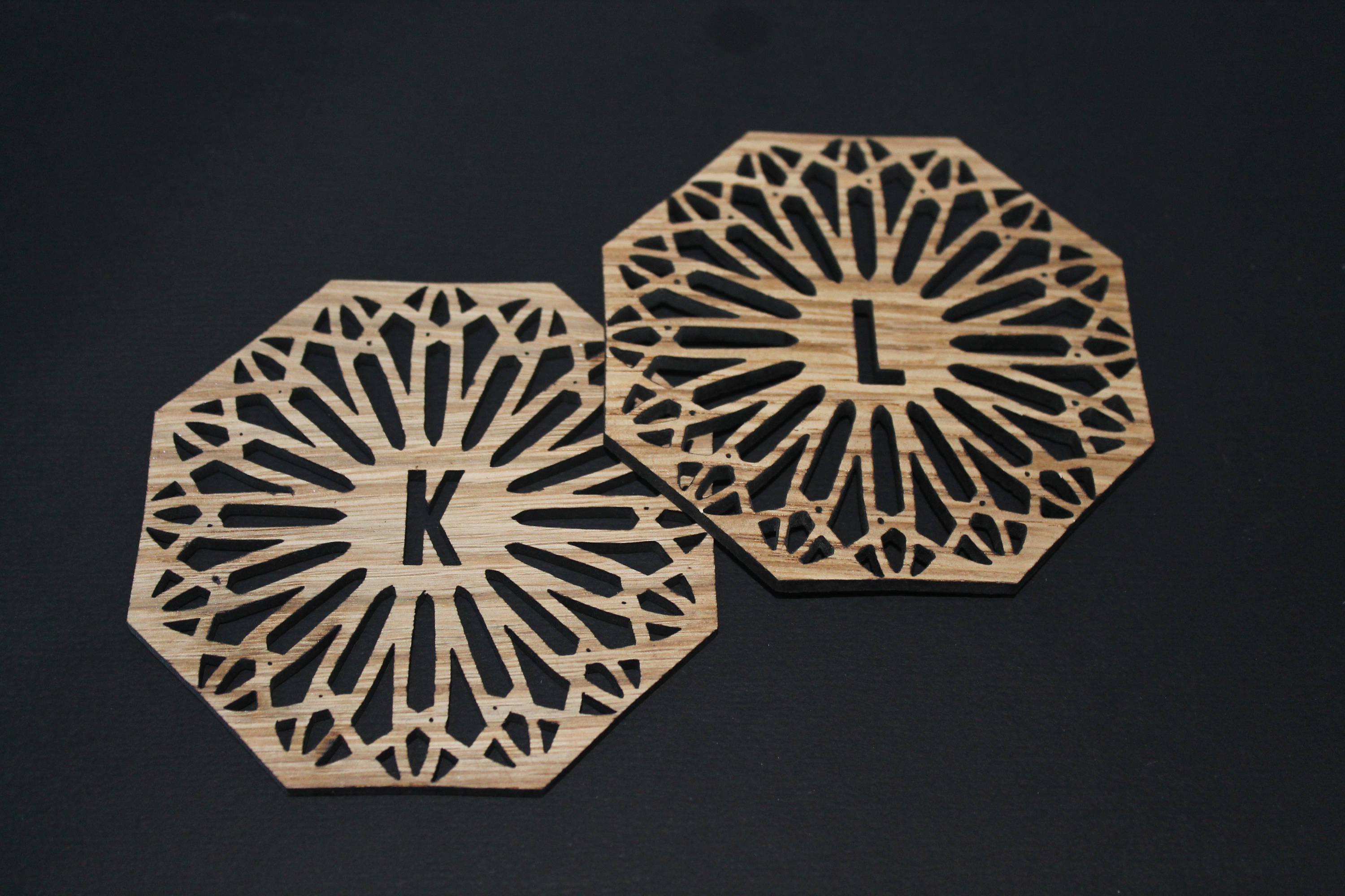 Laser Cut Coasters - Personalised