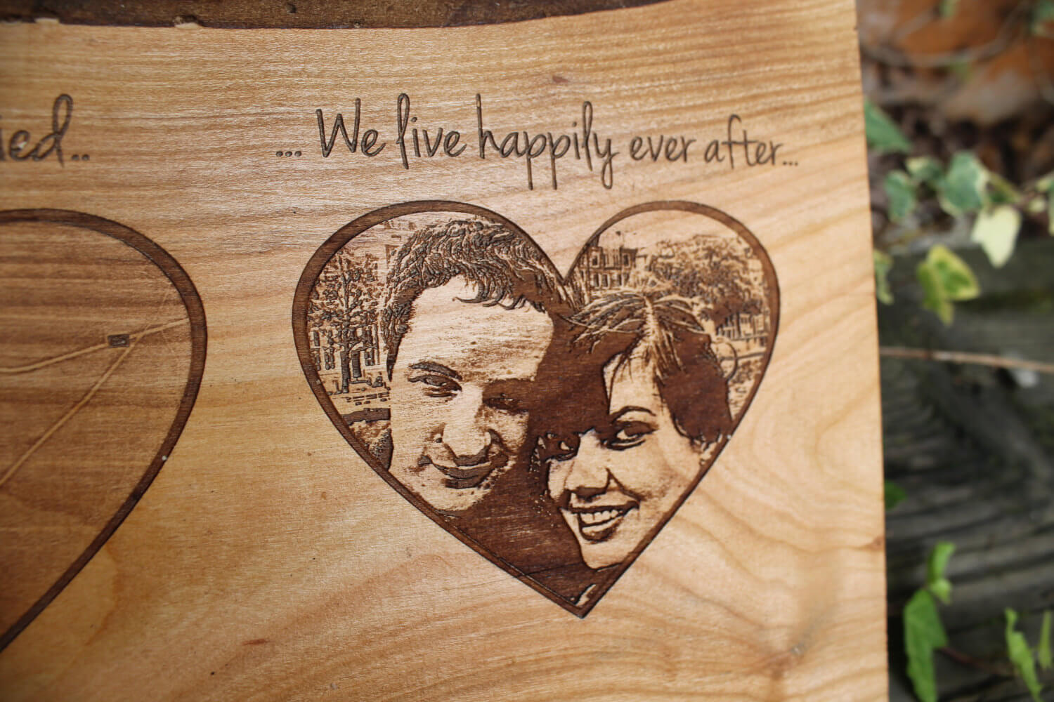 Our Love Story Personalized Engraving Wedding Anniversary Gift