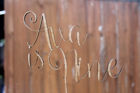 Birthday Cake Topper Name and Age