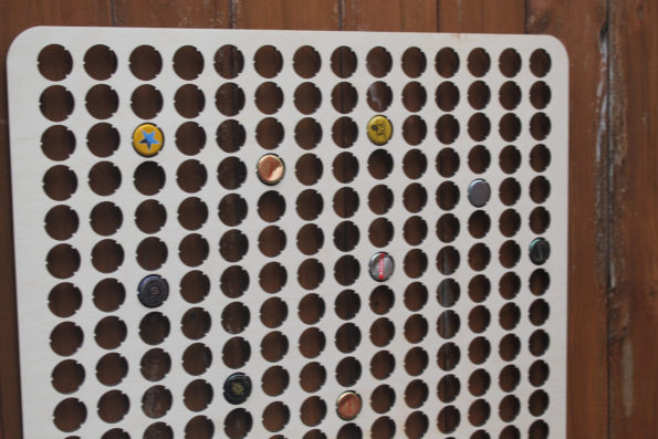 364 Huge Bottle Cap Holder Map BeerCap Map Collection Gift Art