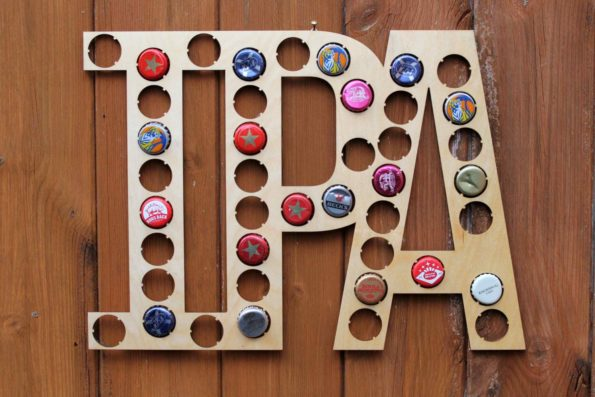 IPA Letters Bottle Beer Cap Collection Bottle Cap Gift Art